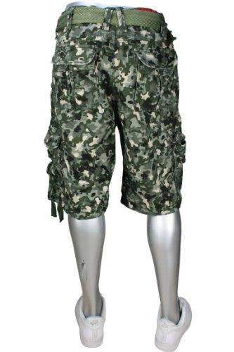 Jordan Craig Men's Digi Camo Cargo Shorts Military Green Size 30