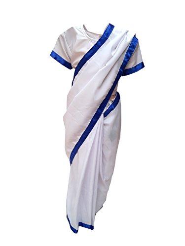 Mother Teresa fancy dress for kids,National Hero Costume for School Annual function