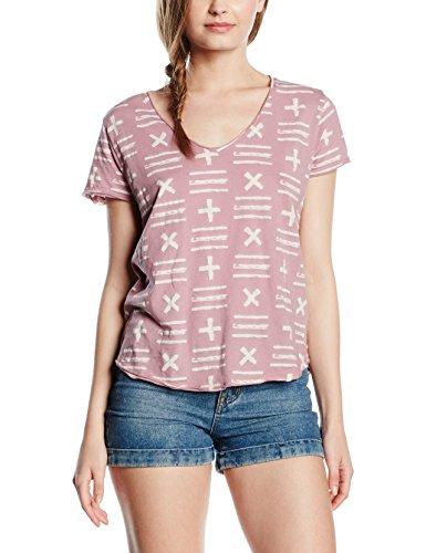 THE HIP TEE Merced, Camiseta para Mujer DIRTY MAUVE