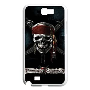 LABEXB Pirates of the Caribbean Phone Case For Samsung Galaxy Note 2 N7100 [Pattern-4]