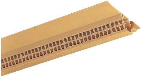 フクビ化学 軒天通気見切緑 SNV70-5 82×1820mm ニューチーク 1箱40本価格 SNV75MT
