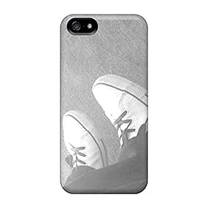 New ConnieJCole Super Strong Emo Shoes Tpu Case Cover For Iphone 5/5s