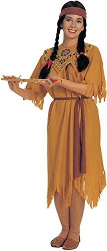 Rubie's Women's Native Maiden Costume, Tan, One -