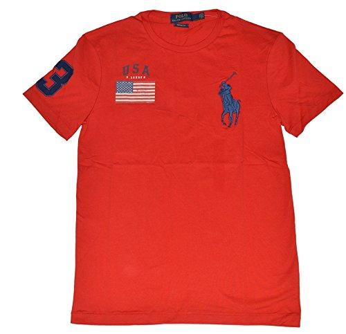 Polo-Ralph-Lauren-Mens-Big-Pony-USA-Custom-Fit-T-Shirt