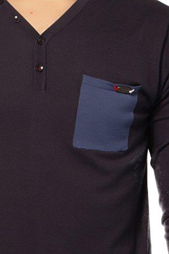 pull léger kaporal 5 figan bleu