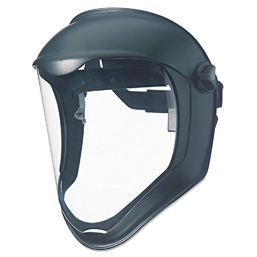 UVEX by Honeywell Bionic Face Shield with Clear Polycarbonate Visor (S8500)