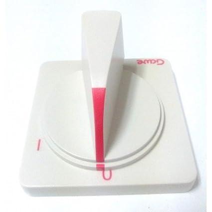 CubetasGastronorm Mando Interruptor 6.5X6mm (2 Piezas) FREIDORA Compatible movilfrit - P901510: Amazon.es: Hogar