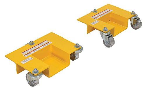 Vestil PRRJ-Dol Pallet Rack Lifting Dollies (Pack of 2)