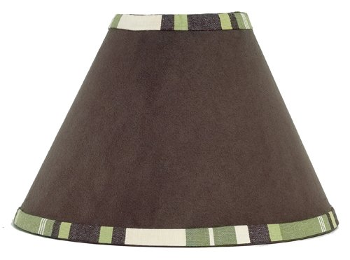 UPC 846480003076, Green and Brown Ethan Modern Lamp Shade by Sweet Jojo Designs