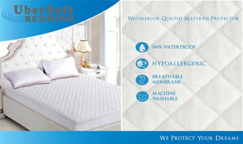 Waterproof Hypoallergenic Protector Pillow Top Stretches product image