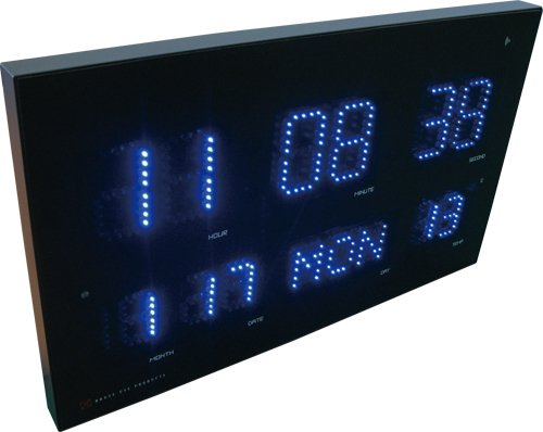 HOUSE USE PRODUCTS(ハウスユーズプロダクツ) LED表示 電波掛け時計 LED RADIO CLOCK WEED ACL071 [正規代理店品] B00ATLENSK