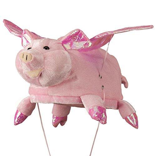 New Stuffed Plush Flying Pink Pig Hat Costume Hog Cap for $<!--$10.99-->