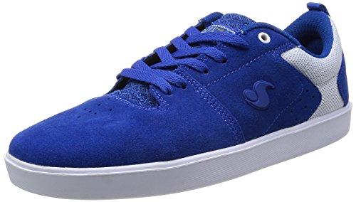 Skateboard Scarpe Blu Per Uomini Blu Da Gli Dvs Scarpe wR45qwt