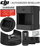 DJI Osmo Pocket Expansion Kit - CP.OS.00000017.01 with Base Stand for Osmo Pocket & Microfiber Cleaning Cloth