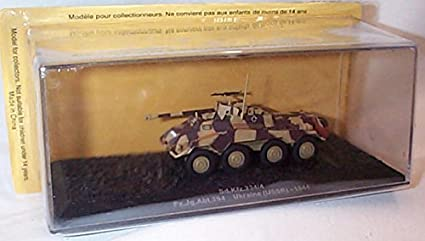 Amazon.com: Deagostini 1:72 Diecast Model Tank - SD KFZ 234/4 PZ JG ABT 294 Ukraine USSR 1944 Army Tank #48: Toys & Games