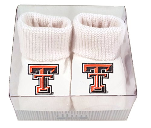 Future Tailgater Texas Tech Red Raiders Boxed Baby Booties (Texas Raiders Tech Red Tailgater)
