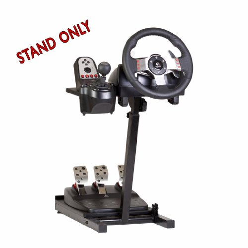 The Ultimate Steering Wheel Stand in Black - suitable for Logitech, Xbox,...