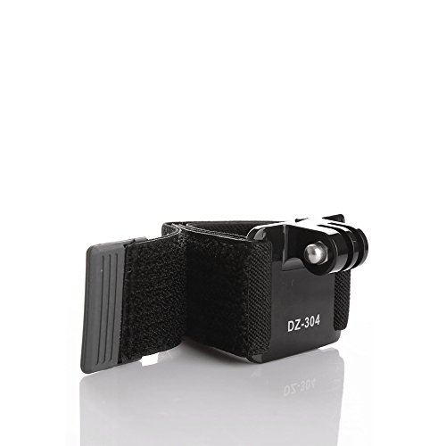 Adjustable Flexible Wrist Strap Mount Band for GoPro Hero 2 3 3+
