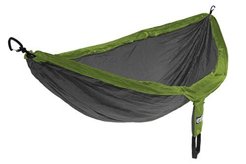 Eagles Nest Outfitters - DoubleNest Hammock, Lime/Charcoal