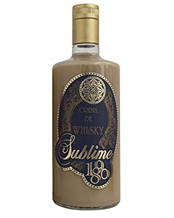 Crema de Whisky 1890 Sublime Bot. 70 cl: Amazon.es: Alimentación y bebidas