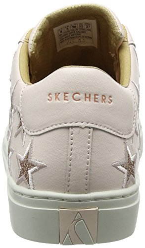 Rosa Star Street Light Side Skechers Donna Embroid Pink Sneaker ZYSxTwq