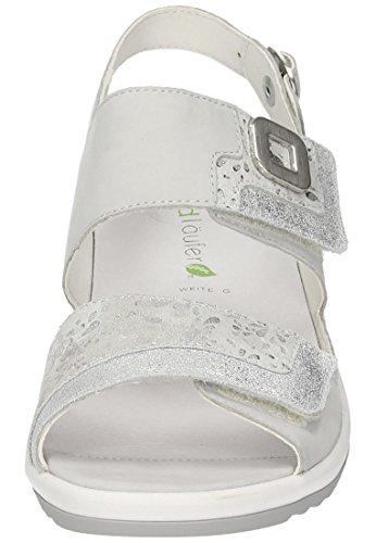 Waldläufer Damen-Sandale - G Grau 710900-9 cement/silber