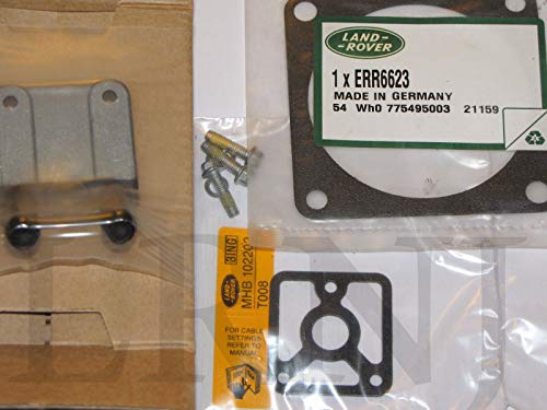 (LAND ROVER DISCOVERY 2 OEM THROTTLE BODY HEATER PLATE REPAIR KIT MGM000010K & ERR6623)