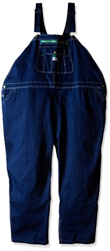 - Men's Liberty Work Denim Zip Fly Bib Overalls 36X28