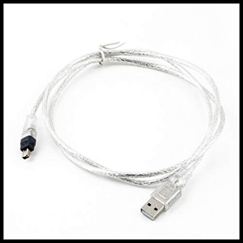 Computer Cables 1.2m USB 2.0 Male to Firewire Yoton 1394 4 Pin Male Yoton Adapter Cable Wholesale - (Cable Length: 120cm) by Yoton (Image #2)