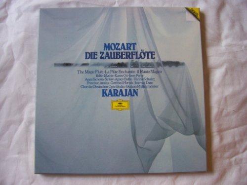 Price comparison product image 2741 001 Mozart Zuberflote BPO Karajan 3 LP box