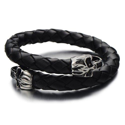 Elastic Adjustable Braided Bracelet Wristband