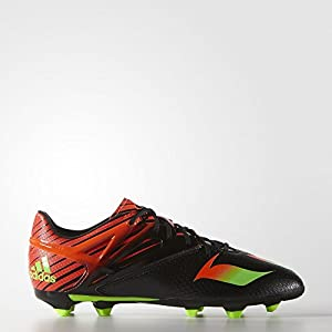 adidas Kids Unisex Soccer Messi15.1 Firm/Artificial Ground Cleats (3.5)