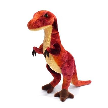 Douglas Corporation dinosaur stuffed Velociraptor (L)