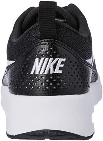 Nike Women's Low-Top Sneakers Fitness Shoes, Black Black White 028, 44