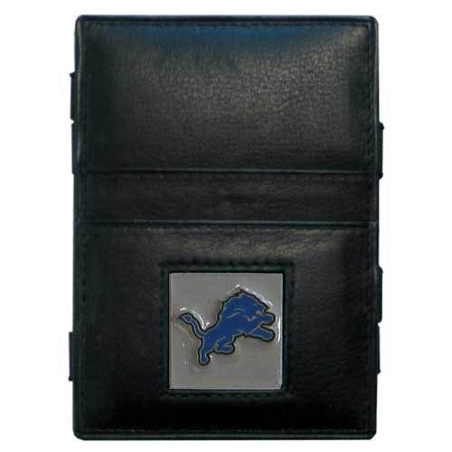 Siskiyou NFL Detroit Lions Leather Jacob's Ladder Wallet