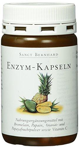 Sanct Bernhard Enzym-90 Kapseln, 1er Pack (1 x 58 g)