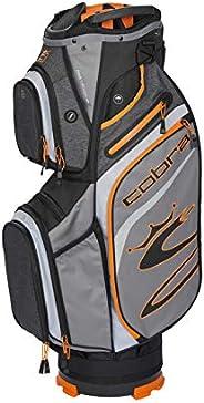 Cobra Golf 2020 Ultralight Cart Bag (Quiet Shade-Vibrant Orange)