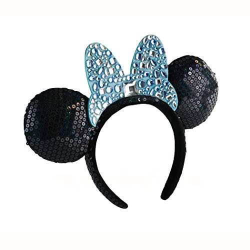 Disneyland 60th Anniversary Jeweled Minnie Mouse Ears Headband