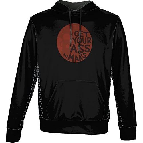 discount ProSphere Boys' Get Your Ass To Mars Space Geometric Hoodie Sweatshirt (Apparel) hot sale