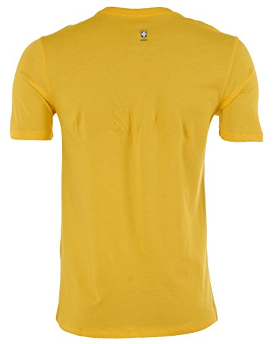 Nike [652170-703] CBF Core Type Tee Mens T Shirt NikeYELLOW Green White