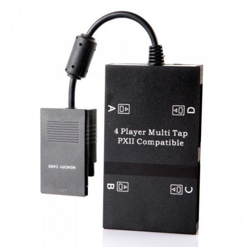 (SODIAL(R) multitap multiplayer game adapter for playstation PS2)