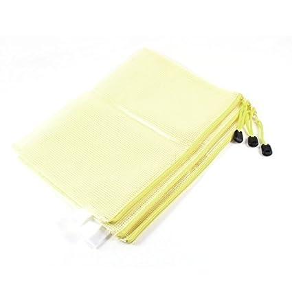 Amazon.com : Paper B5 DealMux zíper plástico arquivo Bag, 29 ...
