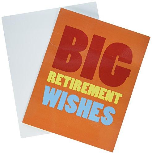 J2734RTG Jumbo Retirement Card Envelope