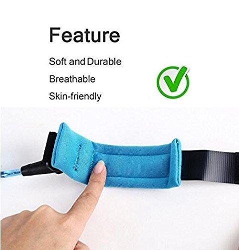 Xiton Anti Poignet Perdu Lien Velcro de s/écurit/é Doux pour la Peau de Coton Poignet Sangles pour Tout-Petits Enfants