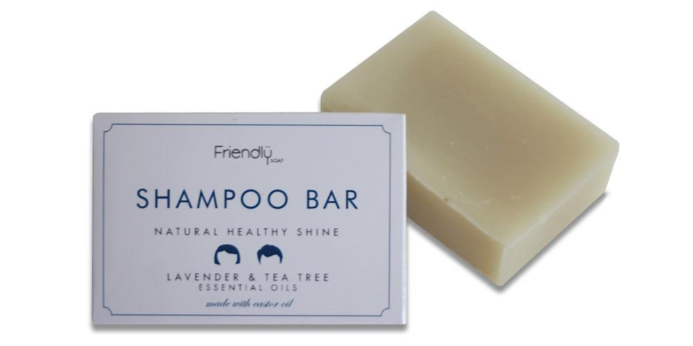 Friendly Soap Shampoo Bar Lavender and Tea Tree