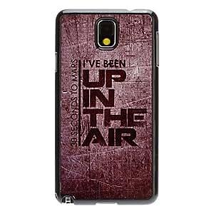 YULIN Hasta el Patrón Espejo Aire Decal Smooth Volver duro caso para Samsung Galaxy Nota 3 N9000