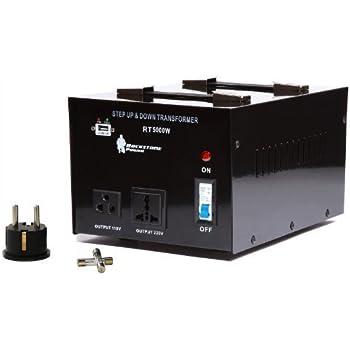 Rockstone Power 5000 Watt Heavy Duty Step Up/Down Voltage Transformer Converter - Step Up/Down 110/120/220/240 Volt - 5V USB Port - CE Certified [3-Year ...