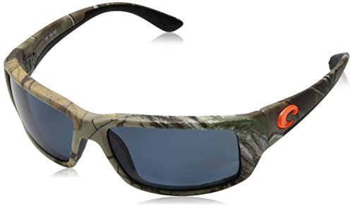 Costa Del Mar Fantail Sunglasses, Realtree Xtra Camo, Green Mirror 580 Glass - Camo Costas