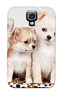 Premium Protection Animal Puppy Case Cover With Design For Galaxy S4- Retail Packaging