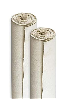 Paramount Artist All-Media 11 oz Double Primed 100 % Pure Unbleached Cotton Canvas Roll ASST